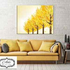 עצים בצהוב