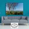 תמונה של עץ סגול טבע נוף