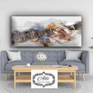 מוזיקה – תמונת אווירה לסלון