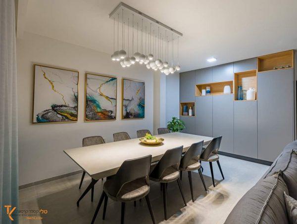 טלי קסלר קרמונה מציגה קפיצת מדרגה בתחום עיצוב פינות אוכל בבתים פרטיים