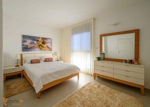 חדר שינה באווירת אוהבים מאת טלי קסלר קרמונה