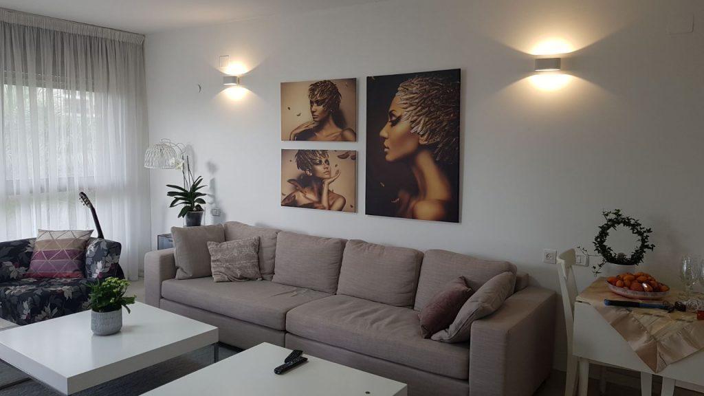 סט תמונות אפריקאיות לסלון