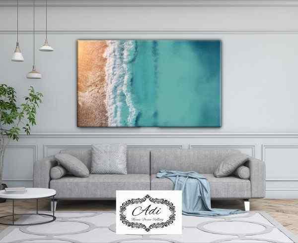 תמונה של חוף נוף ים