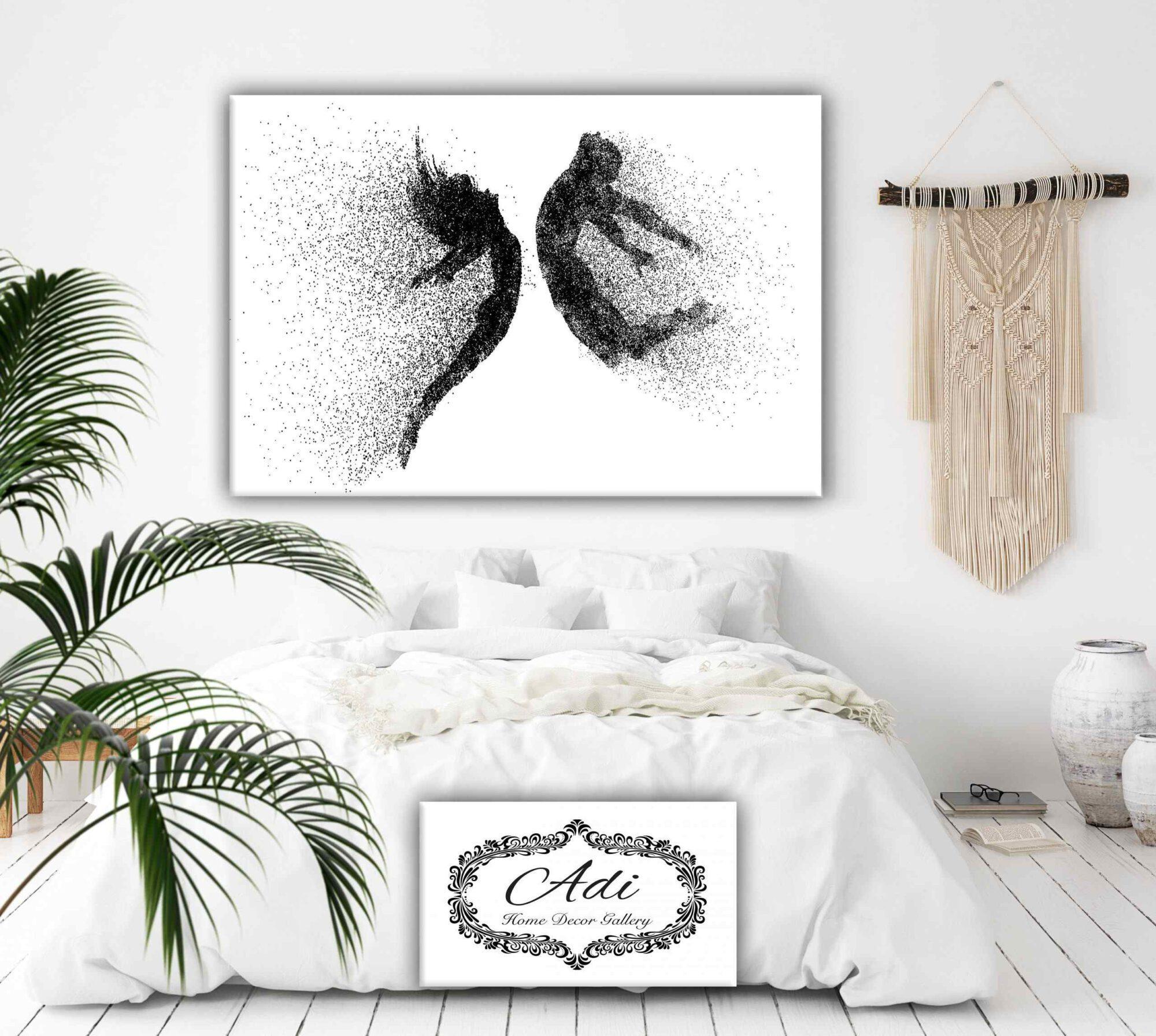 תמונות מינימליסטיות לסלון: 3 עיצובים מרשימים מבית הגלריה של עדי