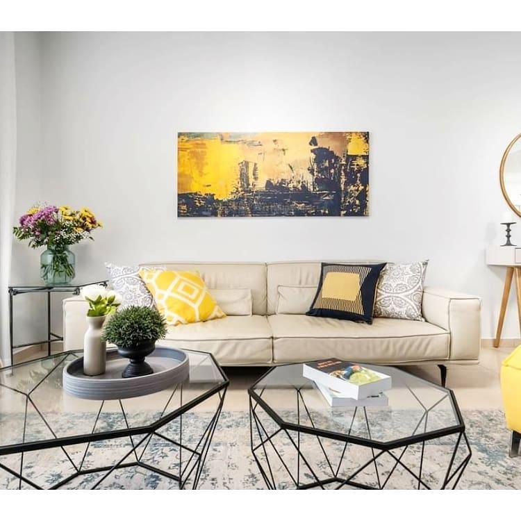 ענק ויפה: תמונות קנבס ענקיות לעיצוב הסלון