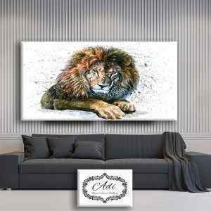 אריה צבע