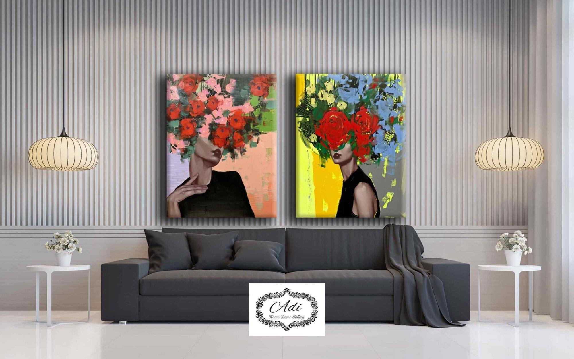 עיצוב הבית: איך בוחרים תמונת קנבס לסלון
