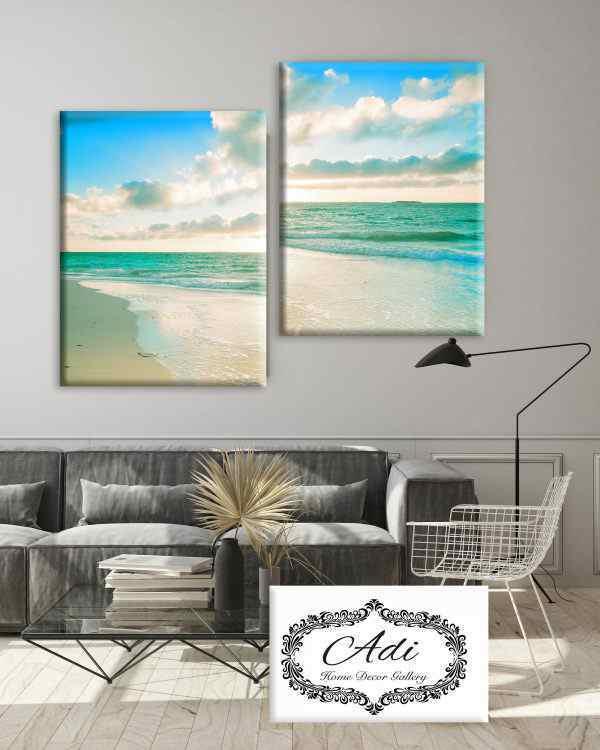 תמונה של חוף ים- להכניס את השקיעה לבית