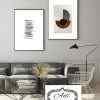 זוג תמונות אומנותיות בעיצוב נורדי מנימליסטי