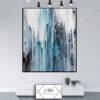 תמונה של אבסטרקט עם צבע כחול