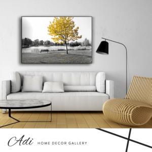 עץ צהוב