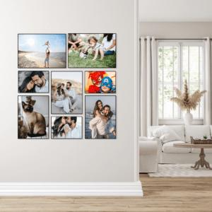 """סט קיר משפחה דגם """"אביב"""" – 8 תמונות"""