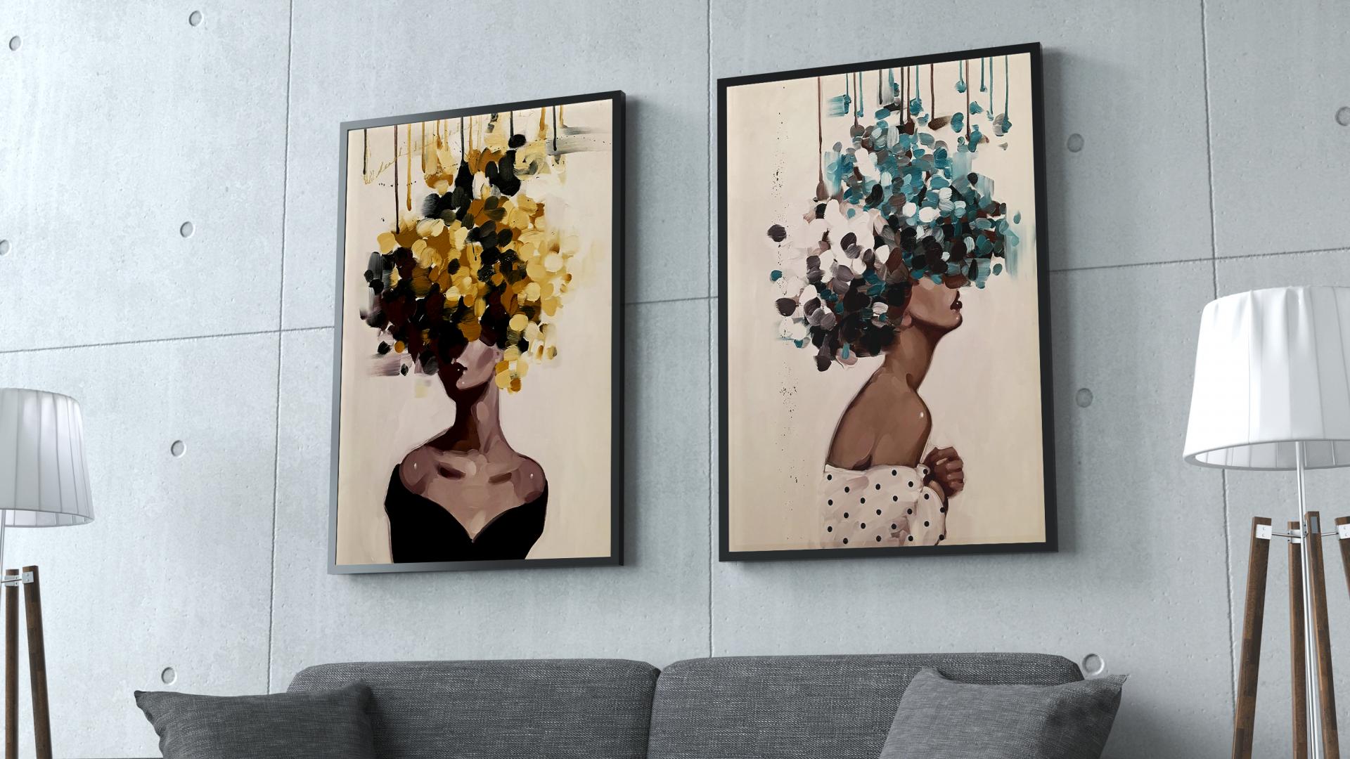נשים-עם-ראש-פרחים